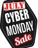 July Cyber Monday Tag